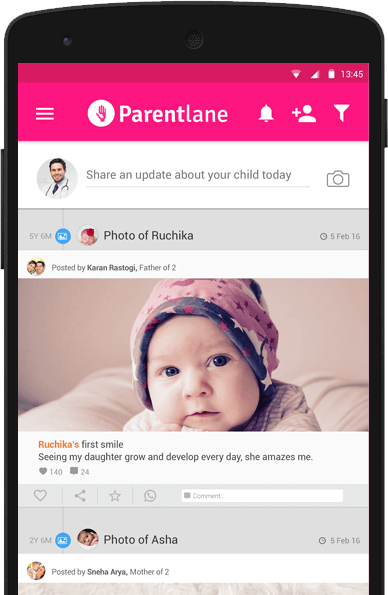 Connect with Family at Parentlane