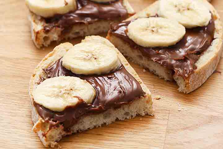 Make Banana Sandwich