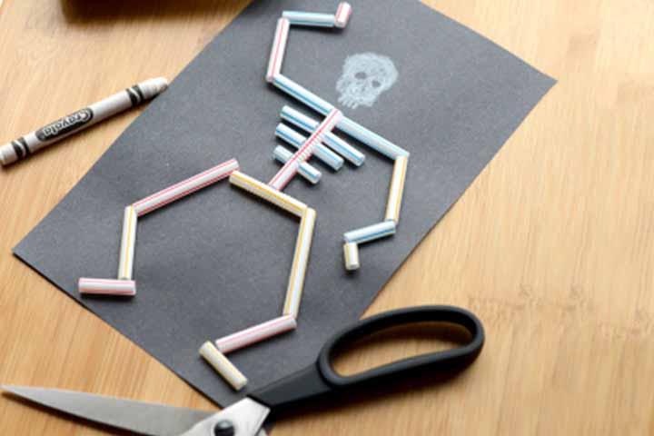 Make A Straw Skeleton