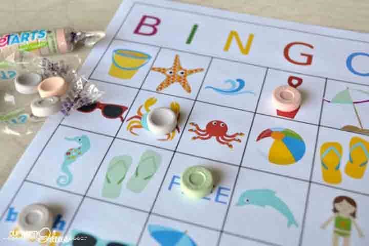 Play Bingo With Your Child