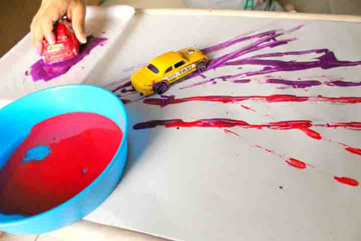Colour Cars Painting