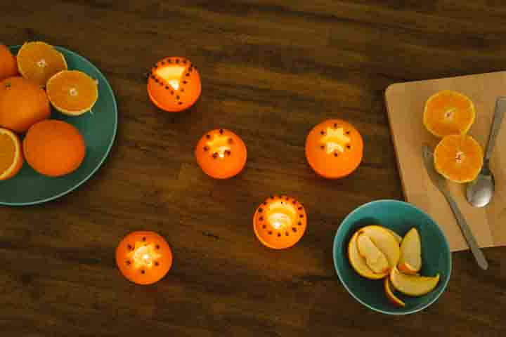 Orange Candles- Craft Time!