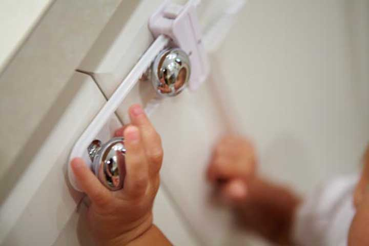Quick Hacks for Baby Proofing