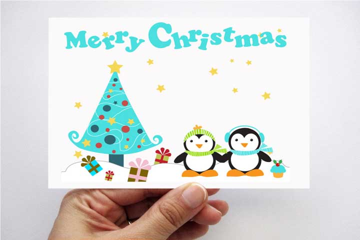 Attractive Christmas Card!