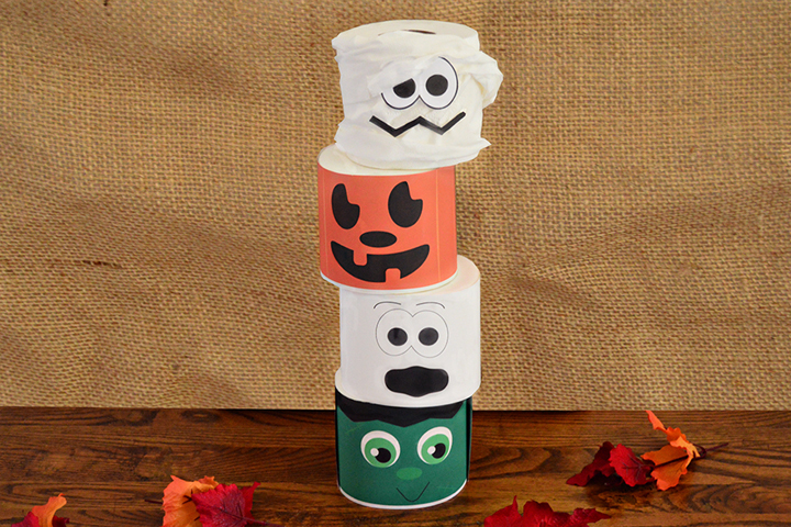 Tissue Paper Roll Towers