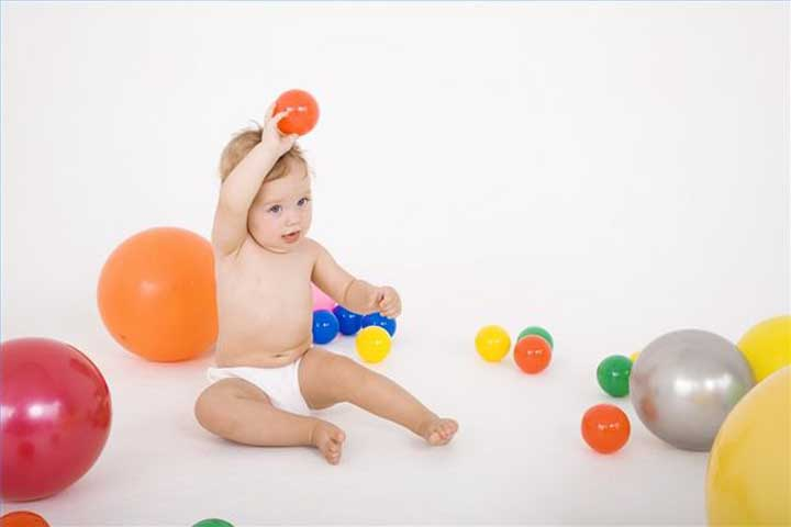 Your Baby Is Likely To Throw A Ball At You With A Forward Arm Motion