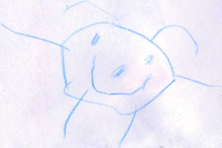 Your Little One Is Now Able To Draw Simple Drawings Of Person With 2-3 Body Parts