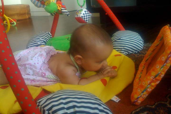 Tummy Time Is Best On A Firm Surface