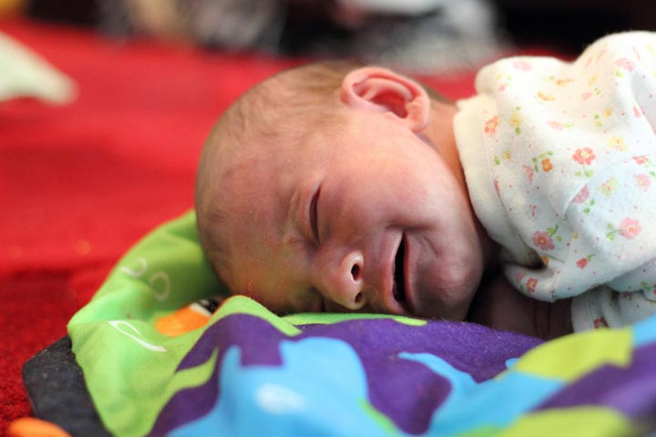 If Your Baby Cries Initially During Tummy Time, Do Not Force Them