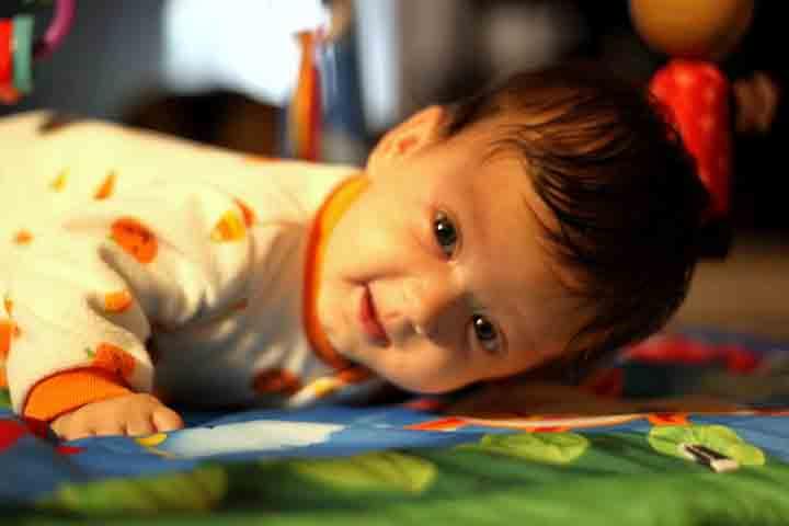 Teach Your Baby Head Control