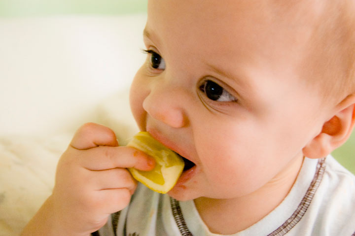 Start Off With Teaching Your Baby A Few Table Manners!