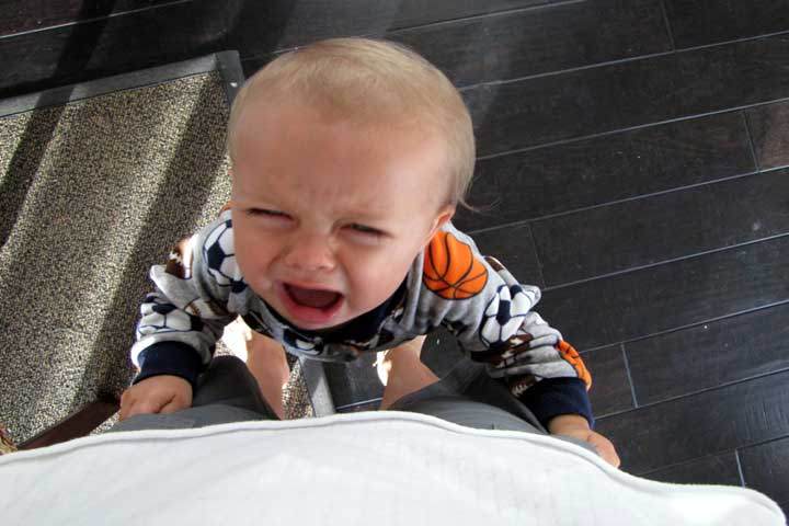 Try Reasoning With Your Kid During A Tantrum