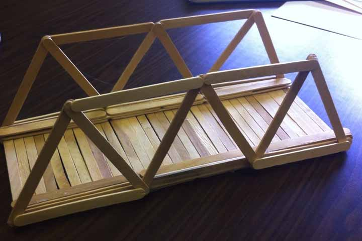 Popsicle Stick Bridges