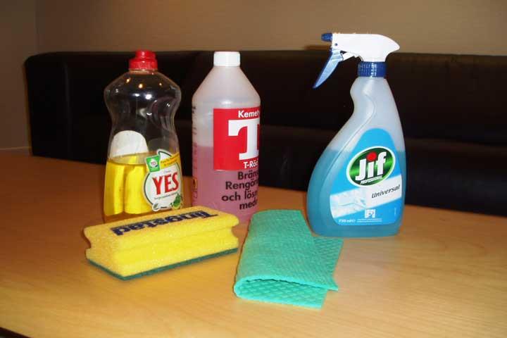 Store Hazardous Chemicals And Liquids Carefully