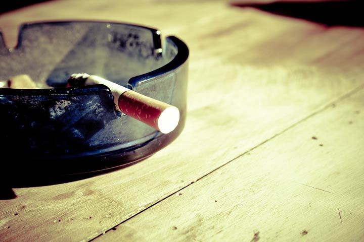 Make Sure That Any Room With Cigarette Smoke is Properly Aired