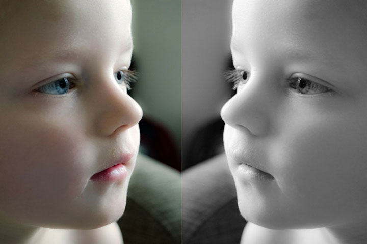 Mirror Image Helps A Child See Himself For Real