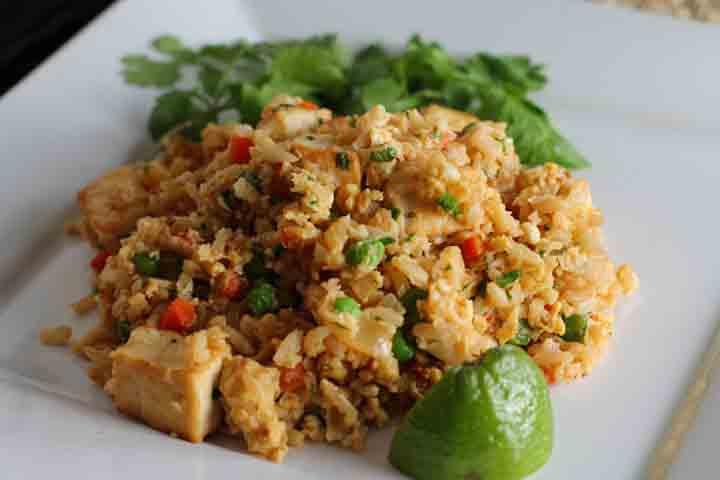 Eggy Cauliflower Fried Rice