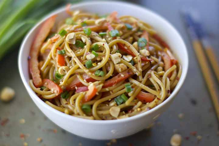 Spaghetti With Soya Sauce