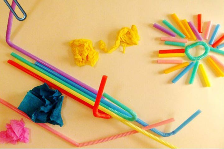 Being Creative With Straws