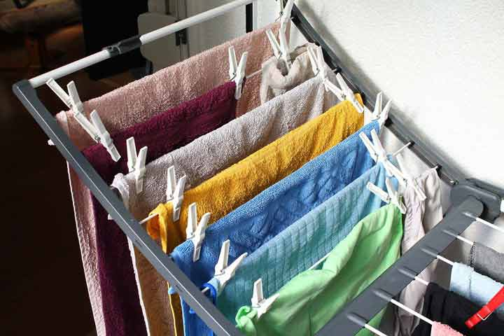 Way to Introduce Daily Chores (Cloth Hanging)