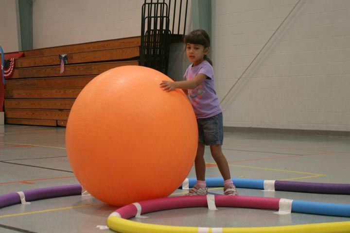 Exercising with Balls To Boost Your Child's Fitness