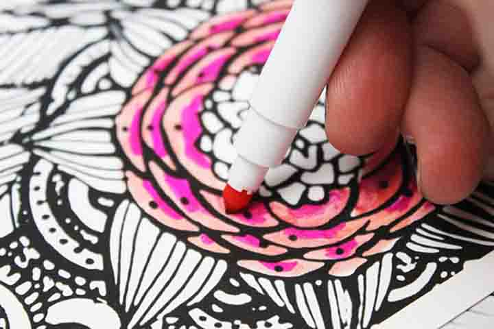 Buy Your Child Water Soluble Pens and Paints