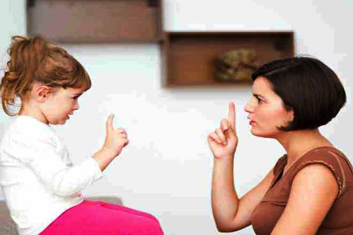 Telling Your Child What's Right And Wrong Is Important