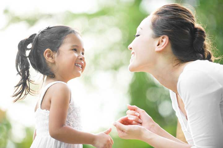 Have A Steady And Consistent Approach While Teaching Your Kid About Eye Contact