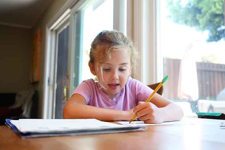 Maintain A Fixed Time And Schedule For Homework
