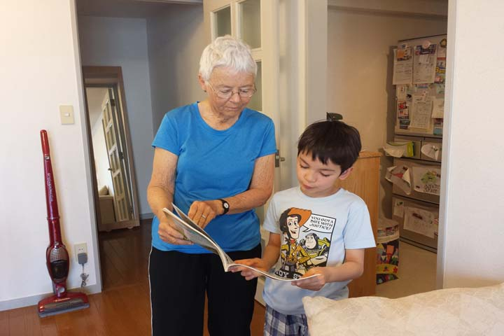 Are Grandparents the right persons to be baby sitters?