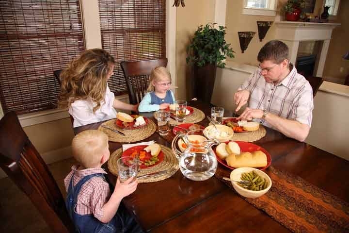 Avoid All Distractions During Family Dinner Time