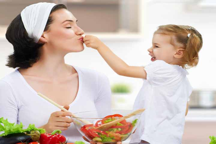 Make It A Point To Try New Foods Yourself In Front Of Your Kid