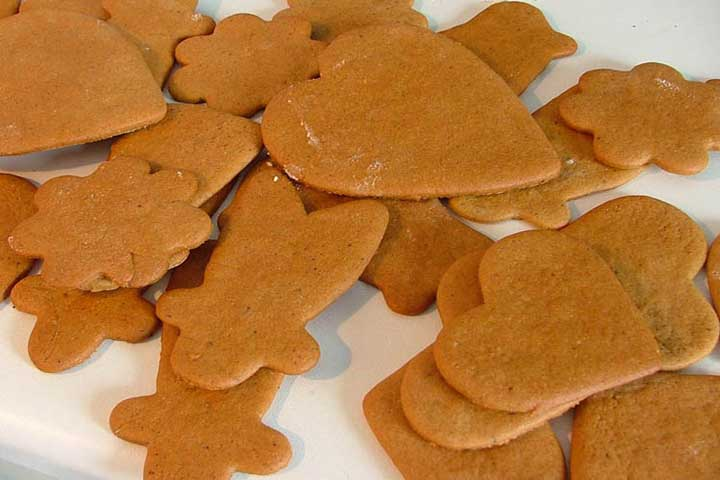 Star-Shaped Ginger Biscuits