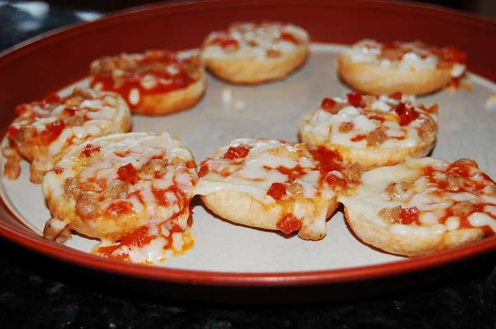 Pizza Pocket Bites
