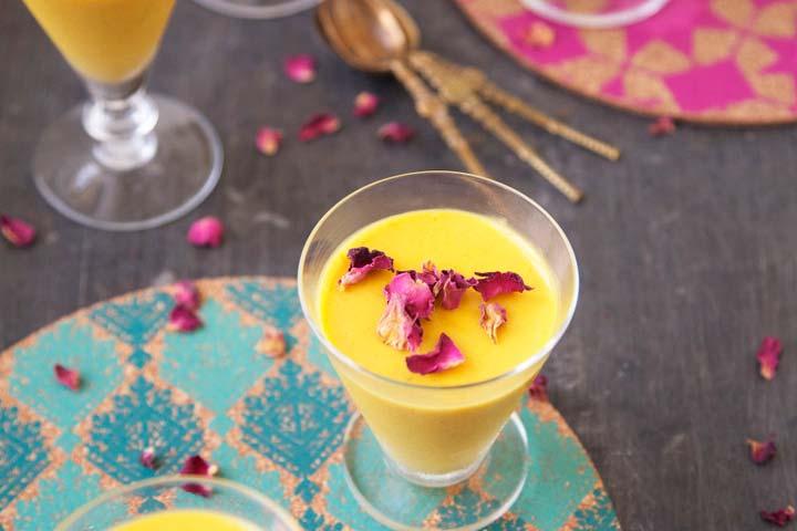 Relishing Mango Lime Lassi