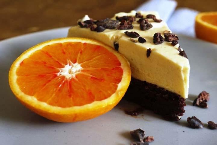 Quick Orange Mousse