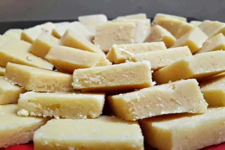 Sweet Cashew Burfi