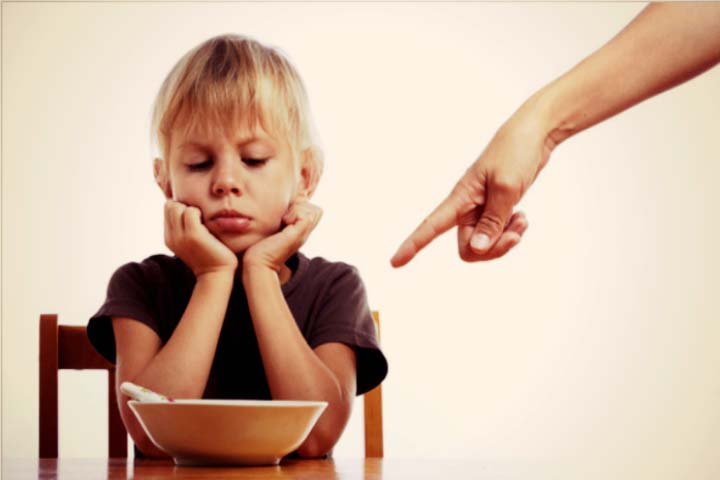 Ensure That You Don't Force Your Child to eat Things He Doesn't Like.....