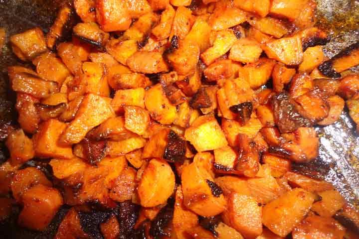 Skinny Carrot Fries