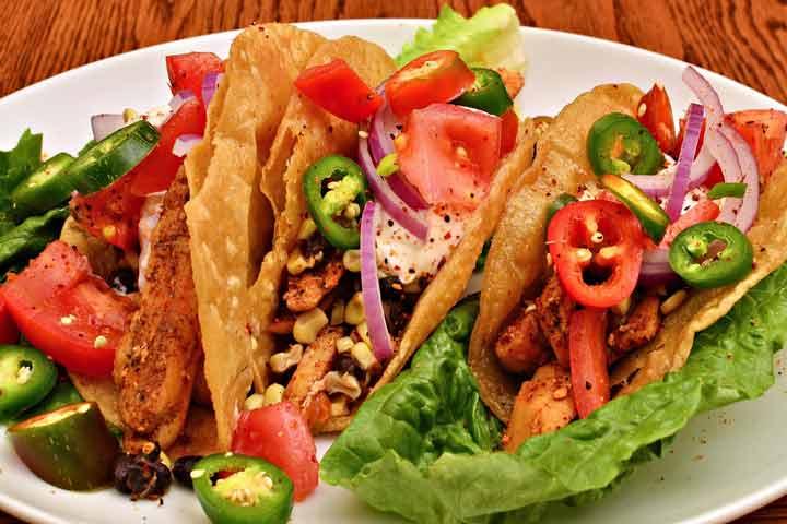 Juicy Chicken Tacos