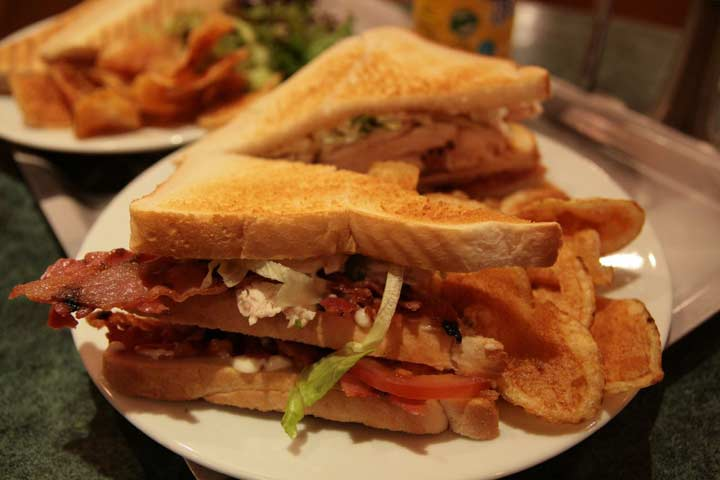 Southern Turkey Club Sandwich