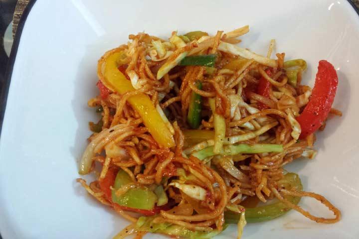 Delightful Chinese Bhel