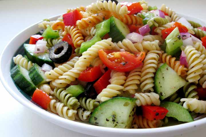 Mango Pasta Salad