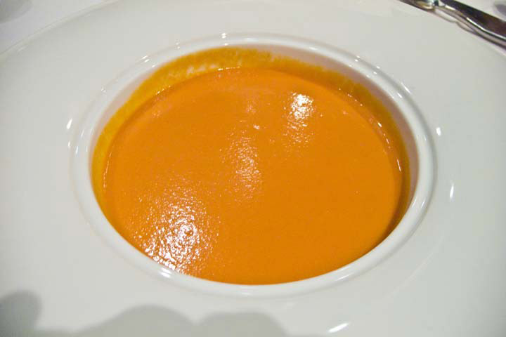 Colorful Tomato Bisque
