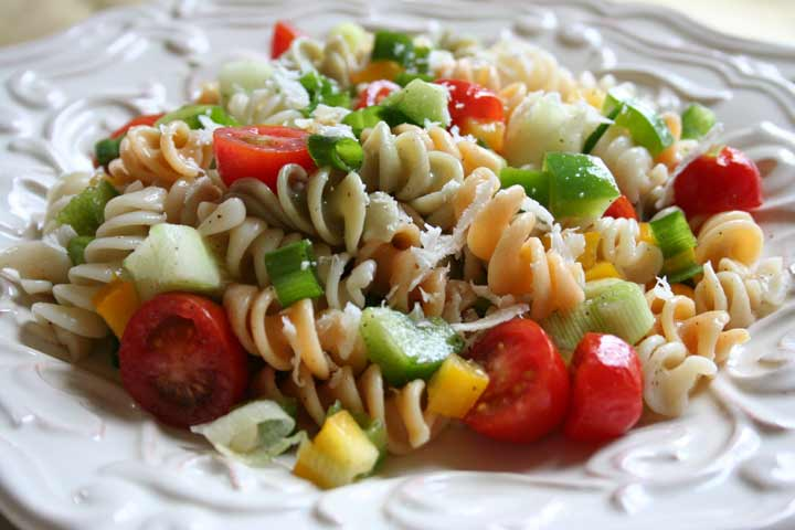Peppery Vegetable Pasta