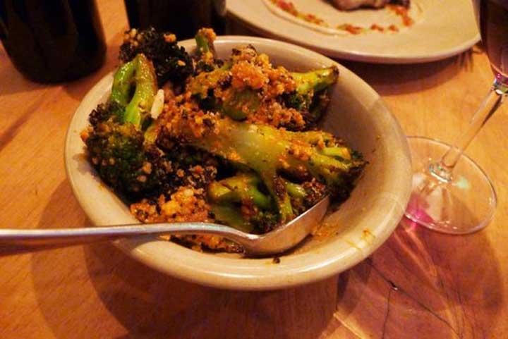 Snack On Charred Broccoli