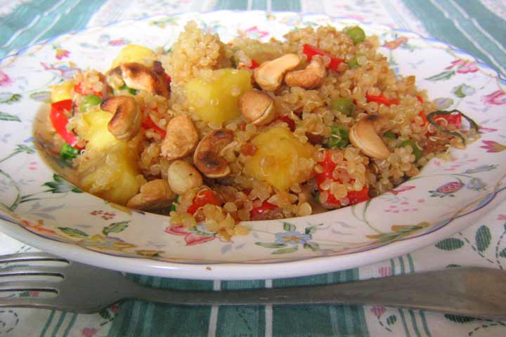 Pineapple Stir-Fry