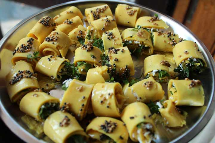 Yummy Besan Khandvi