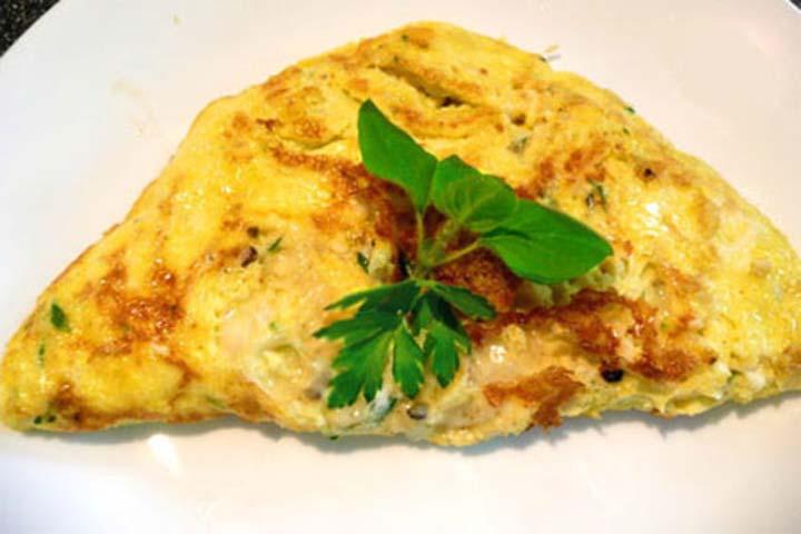 Relishing Italian Omelet