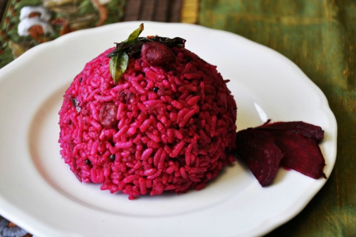 Image result for beetroot rice